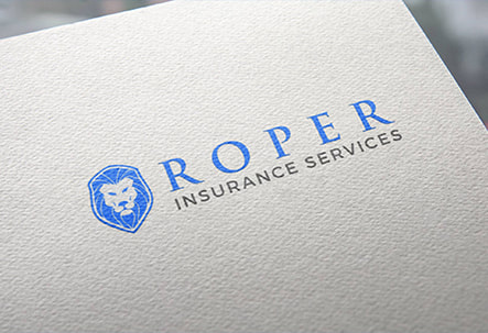 Roper Insurance Services logo printed on a paper
